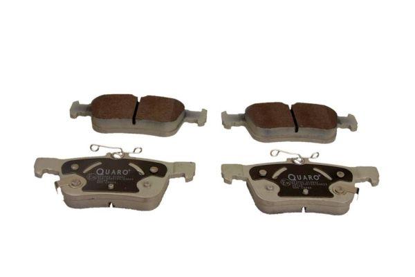 QP4990 QUARO mit akustischer Verschleißwarnung Höhe 1: 48,4mm, Höhe 2: 53,2mm, Breite: 123,2mm, Dicke/Stärke: 15,9mm Bremsbelagsatz, Scheibenbremse QP4990 günstig kaufen