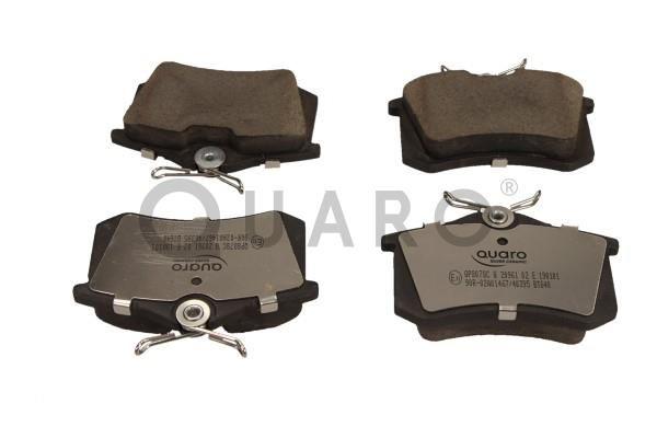 QP8078C QUARO nicht für Verschleißwarnanzeiger vorbereitet Höhe: 53mm, Breite: 87mm, Dicke/Stärke: 17,2mm Bremsbelagsatz, Scheibenbremse QP8078C günstig kaufen