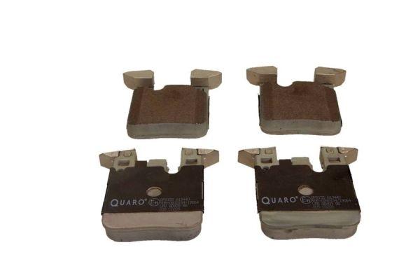 QP8155 QUARO für Verschleißwarnanzeiger vorbereitet, mit Ausgleichsgewichten Höhe: 88mm, Breite: 71,8mm, Dicke/Stärke: 17,0mm Bremsbelagsatz, Scheibenbremse QP8155 günstig kaufen