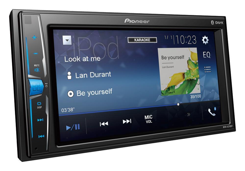 PIONEER | Pantalla para coche MVH-A210BT