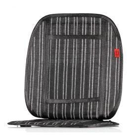 711100 HEYNER Black/White, Textile Size: 95x45 cm Seat cover 711100 cheap