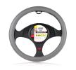 603200 Protector de volante gris, Ø: 37-39cm, PVC de HEYNER a precios bajos - ¡compre ahora!