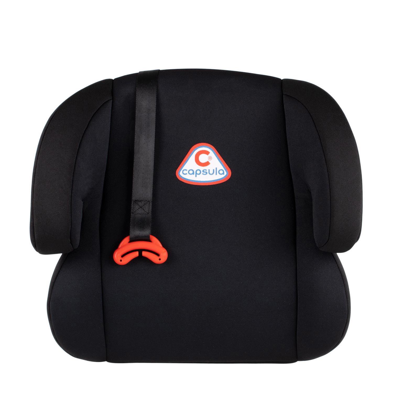 774010 capsula JR4 1.3kg, 400 x 360 x 170, Sicherheitsgurt, Polyester, schwarz, 2, 3 Gewicht des Kindes: 15-36kg Kindersitzerhöhung 774010 günstig kaufen