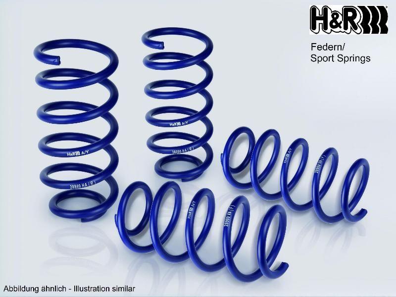 288561 Federnsatz Sportfedersätze/Performance Lowering Springs H&R 28856-1 - Große Auswahl - stark reduziert