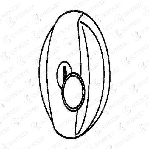 COVIND: Original Kraftstoffbehälter und Tankverschluss 550/670 (Ø: 80mm)