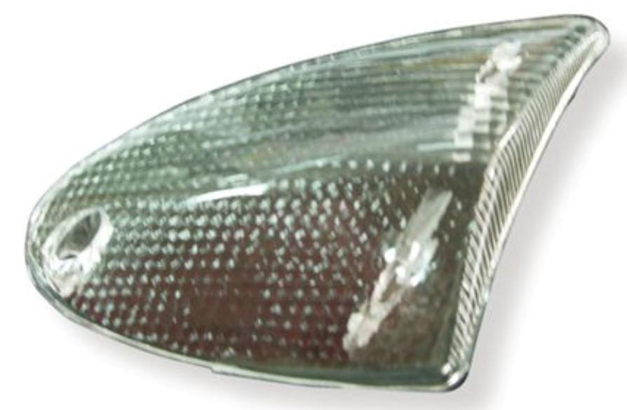 VICMA Lampglas, knipperlamp 7126 DERBI