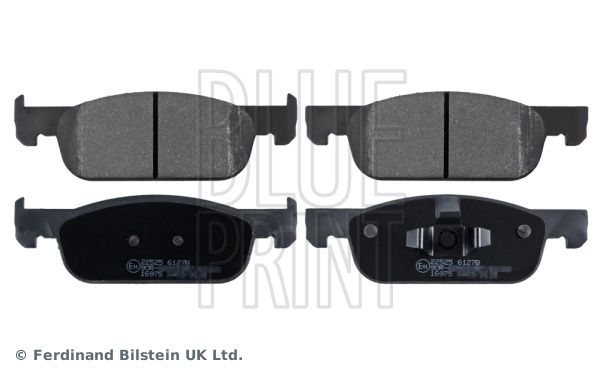 ADR164219 BLUE PRINT Vorderachse Breite: 49,0mm, Dicke/Stärke 1: 16,7mm Bremsbelagsatz, Scheibenbremse ADR164219 günstig kaufen