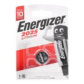 626982 ENERGIZER CR 2025 3V, 170mAh Gerätebatterie 626982 günstig kaufen