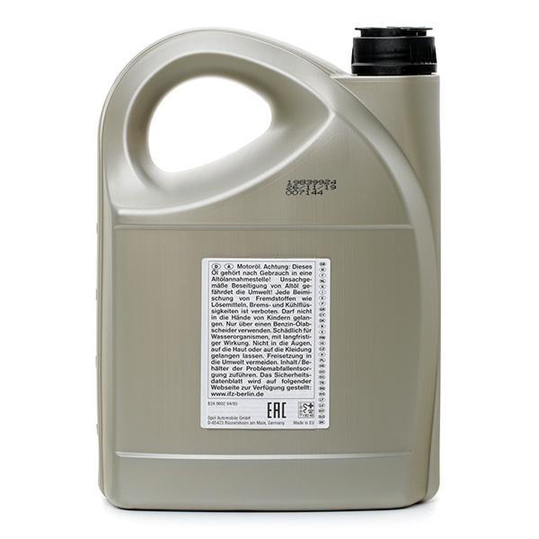 19 42 003 Aceite de motor OPEL GM - Productos de marca económicos
