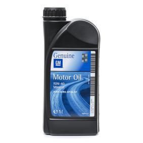 19 42 047 OPEL GM 15W-40, 1l, Mineralöl Motoröl 19 42 047 günstig kaufen