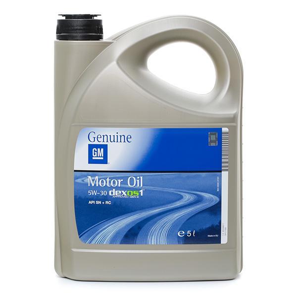 Motoröl OPEL GM 95599877 Bewertungen