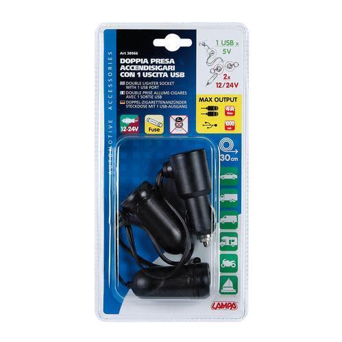 38966 KFZ-Ladekabel für Handys LAMPA - Markenprodukte billig