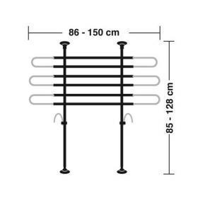 60414 Griglia divisoria per auto LAMPA esperienza a prezzi scontati
