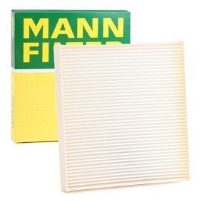 CU 22 028 MANN-FILTER Partikelfilter Breite: 200mm, Höhe: 32mm, Länge: 216mm Filter, Innenraumluft CU 22 028 günstig kaufen