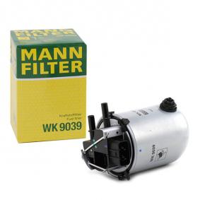 WK 9039 MANN-FILTER Height: 158mm Fuel filter WK 9039 cheap
