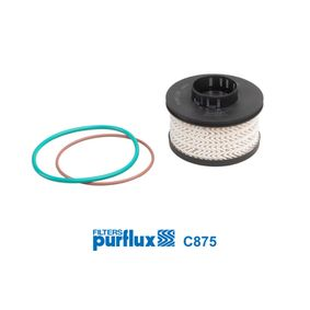 C875 Fuel filter PURFLUX Test