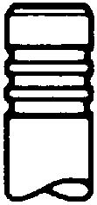 MINI COUNTRYMAN 2014 Einlaßventil - Original TRW Engine Component 111234