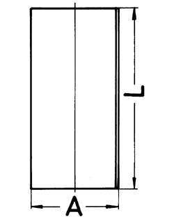 KOLBENSCHMIDT Cylinderhylsa till DAF - artikelnummer: 89630190