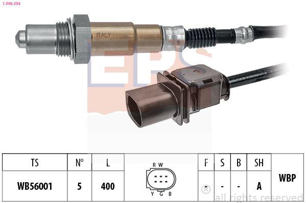 O2 sensor 1.998.394 EPS — only new parts