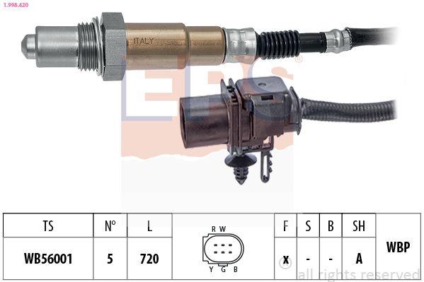 Lambda sensor 1.998.420 EPS — only new parts