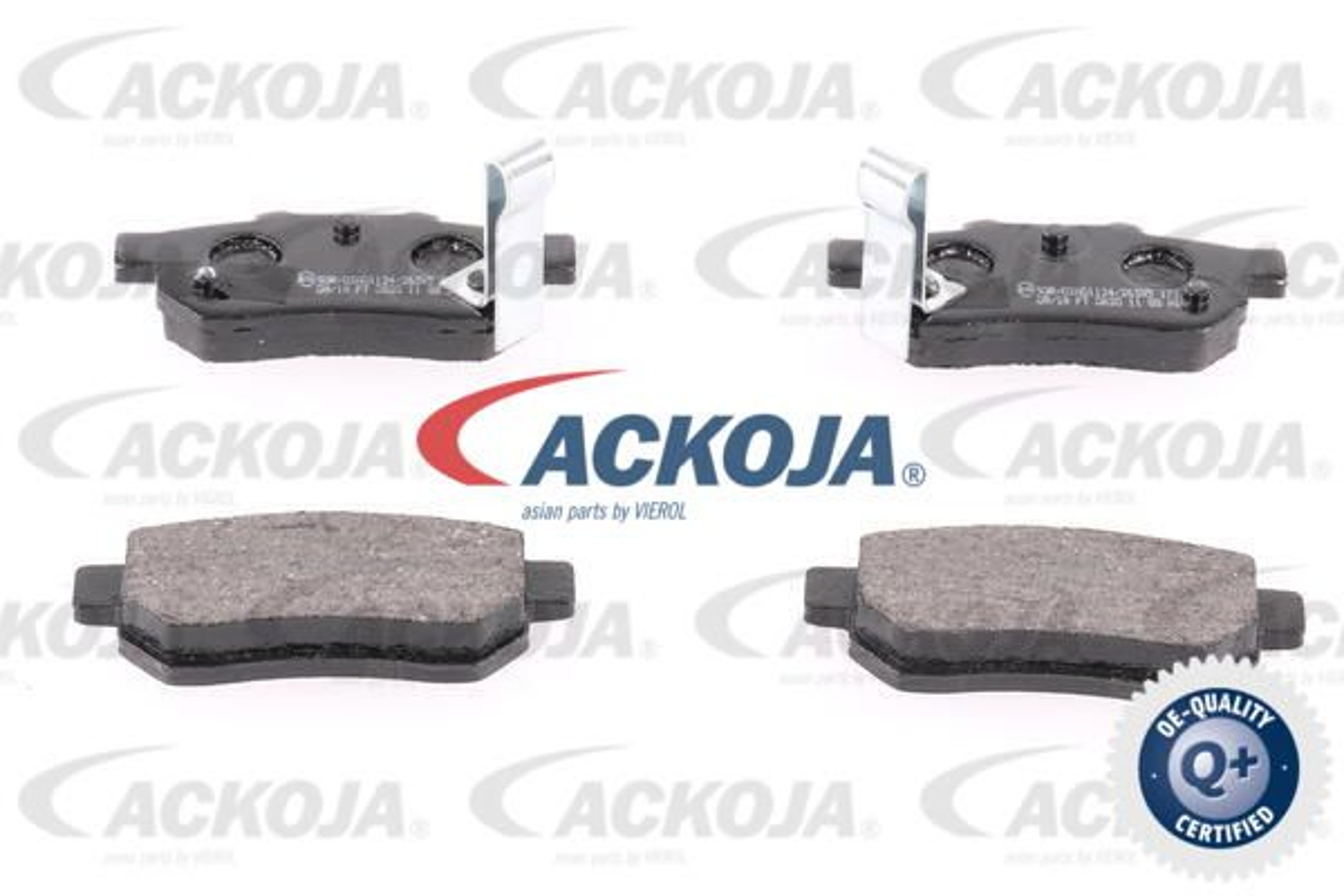 Bremsklötze ACKOJA A26-0024