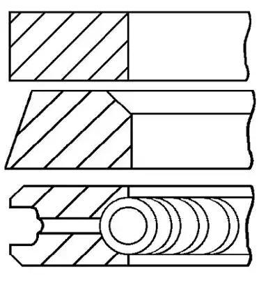 Buy GOETZE ENGINE Piston Ring Kit 08-743600-00 truck