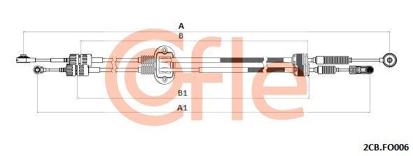 Växelwire 2CB.FO006 COFLE — bara nya delar