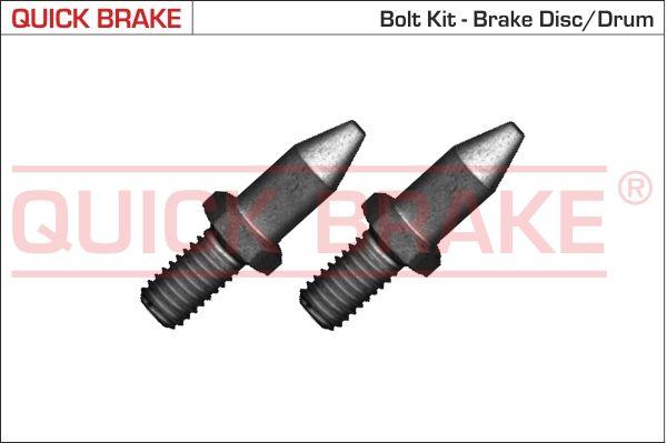 QUICK BRAKE: Original Schraube, Bremsscheibe 11674K ()