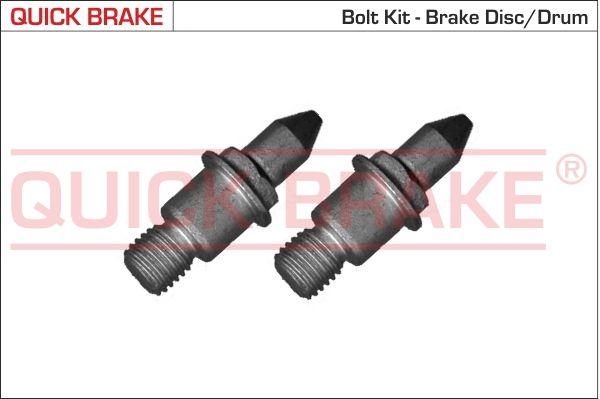 QUICK BRAKE: Original Schraube, Bremsscheibe 11677K ()