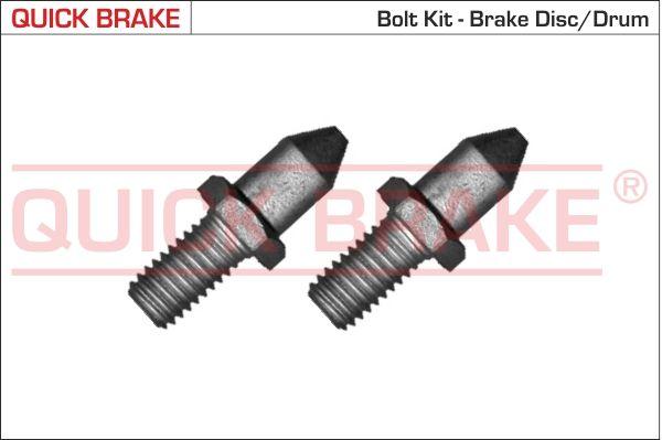 QUICK BRAKE: Original Schraube, Bremsscheibe 11678K ()