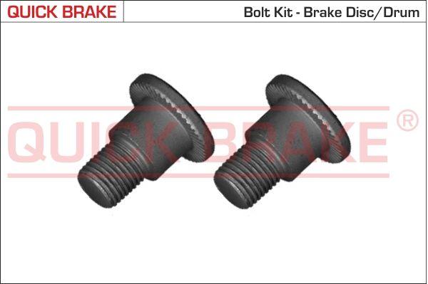 QUICK BRAKE: Original Schraube, Bremsscheibe 11679K ()