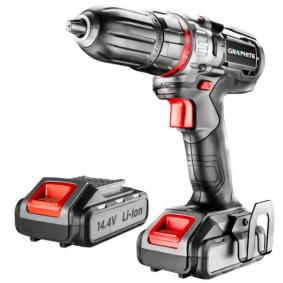58G216 GRAPHITE Spannung: 14.4V, Batterie-Kapazität: 2.0 (x2)Ah, Spannbereich Bohrfutter von: 1mm, Spannbereich Bohrfutter bis: 13mm, mit Zubehör, mit Batterie, Drehzahl bis: 4001/min, Drehzahl bis: 11001/min, Drehmoment bis: 34Nm Akkuschrauber 58G216 günstig kaufen