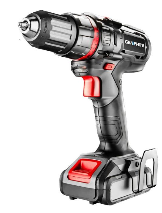 58G218 GRAPHITE Spannung: 14.4V, Batterie-Kapazität: 1.5Ah, Spannbereich Bohrfutter von: 1mm, Spannbereich Bohrfutter bis: 10mm, mit Batterie, mit Zubehör, Drehzahl bis: 1000, 3901/min, Drehmoment bis: 28Nm Akkuschrauber 58G218 günstig kaufen