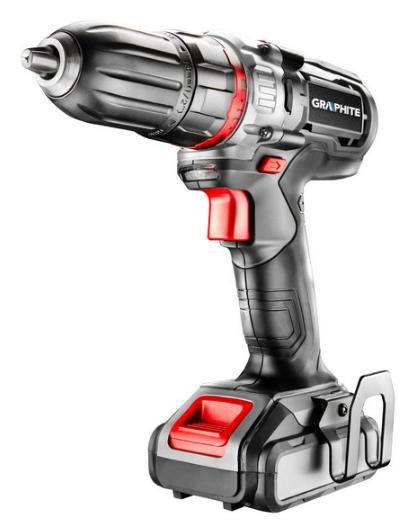 58G221 GRAPHITE Spannung: 18V, Batterie-Kapazität: 2Ah, Spannbereich Bohrfutter von: 1mm, Spannbereich Bohrfutter bis: 13mm, mit Batterie, mit Zubehör, Drehzahl bis: 1100, 4001/min, Drehmoment bis: 42Nm Akkuschrauber 58G221 günstig kaufen