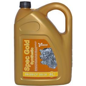 101781 SPECOL Spec, Gold 5W-30, 4l Motoröl 101781 günstig kaufen