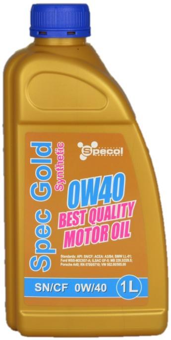 Motoröl SPECOL 101753