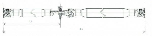 Acheter Barre de transmission SPIDAN GKNP20031 à tout moment