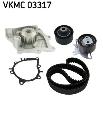 SKF | Wasserpumpe + Zahnriemensatz VKMC 03317