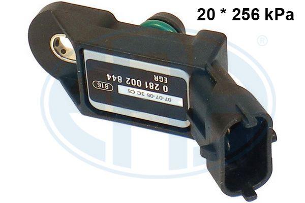 OPEL ASTRA 2014 Sensor, Saugrohrdruck - Original ERA 550097A Anschlussanzahl: 3
