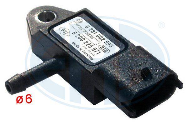 NISSAN BLUEBIRD 2015 Sensor, Saugrohrdruck - Original ERA 550173A Anschlussanzahl: 3