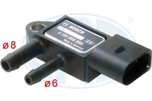 AUDI A4 2019 Abgasdrucksensor - Original ERA 550711A Anschlussanzahl: 3