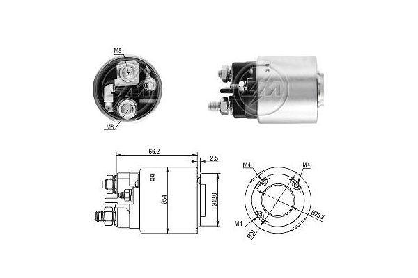 Buy Starter motor solenoid ERA ZM3497