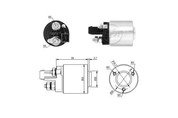 ERA: Original Magnetschalter Starter ZM5492 ()