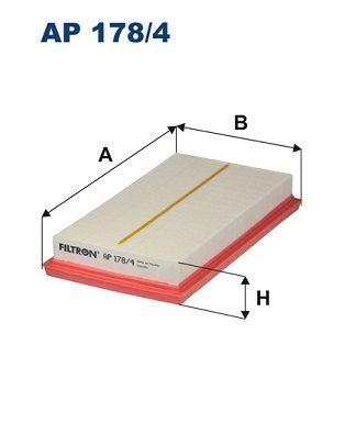 Zracni filter AP 178/4 z izjemnim razmerjem med FILTRON ceno in zmogljivostjo