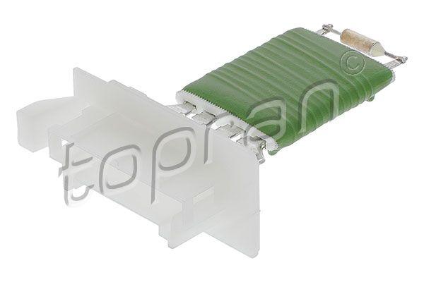 TOPRAN: Original Widerstand Innenraumgebläse 409 696 (Pol-Anzahl: 4-polig)
