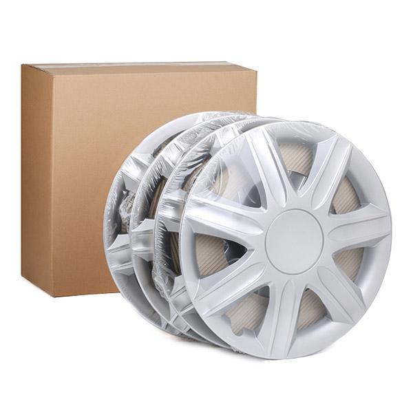 RUBIN 15 Hjulkapsler LEOPLAST - Billige mærke produkter
