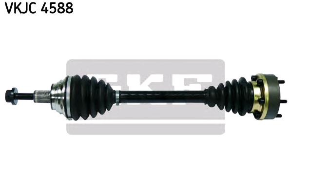 VW CADDY 2016 Antriebswelle - Original SKF VKJC 4588 Länge: 520mm, Außenverz.Radseite: 36