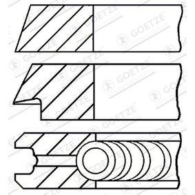 08-109400-10 GOETZE ENGINE Zyl.Bohr.: 81,00mm Kolbenringsatz 08-109400-10 günstig kaufen
