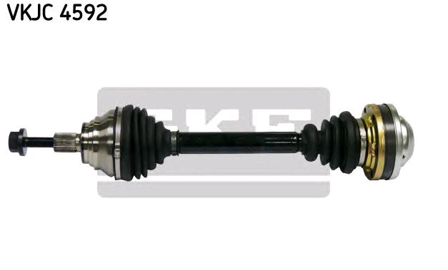 VW TIGUAN 2021 Gelenkwelle - Original SKF VKJC 4592 Länge: 486,5mm, Außenverz.Radseite: 36