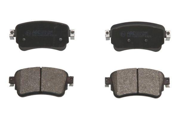 Bremsklötze OPEL Zafira Life (K0) hinten + vorne 2021 - ABE C2C017ABE (Höhe: 53,4mm, Breite: 114mm, Dicke/Stärke: 17,5mm)